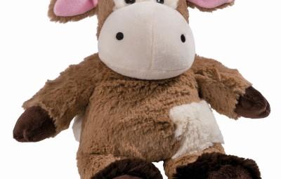 Peluche termico mucca