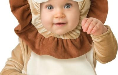 Costume neonato da leoncino