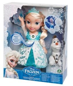 giocattoli di Frozen Elsa luce delle nevi
