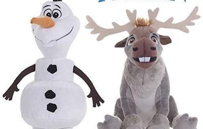 Peluche Frozen Olaf e Sven