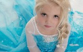 Vestito Elsa Frozen con accessori