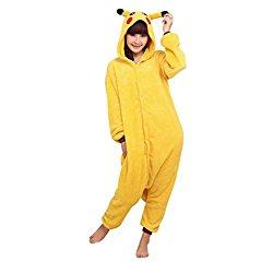 pigiama cosplay pikachu